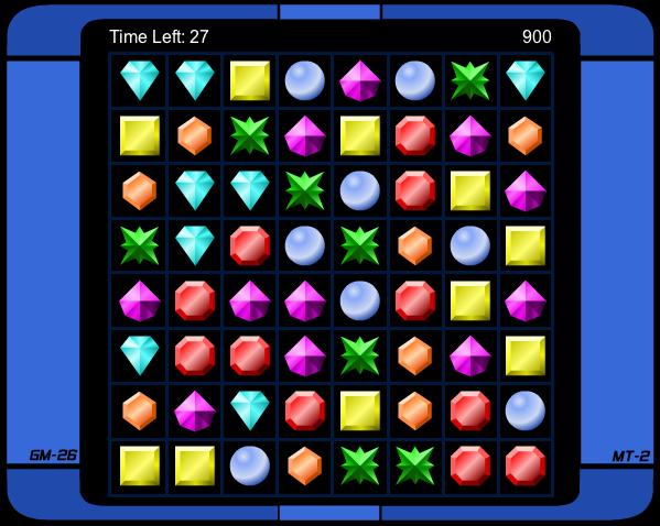 Match 3 Jewels Screenshot 1 - Screenshots - OrkGames.com.